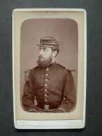 Phot Cdv  Officier Pompier De Neully Sur Seine 1870 - Photos