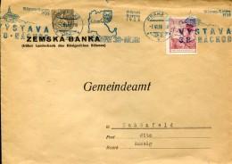 8344 Ceskoslovensko , Circuled Cover 1938 Praha To Usti Nad Labem (aussig) - Briefe U. Dokumente