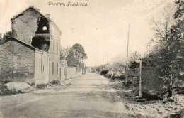 CPA - DONTRIEN (51) - Aspect De La Rue Principale En 1916 - Sonstige Gemeinden