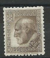 ESPAGNE - YVERT N° 528 * - COTE = 12 EURO - 1931-50 Neufs