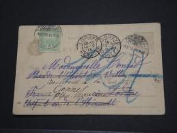 HONGRIE - Entier Avec Complément D'affr Pour Lodève Puis Redirigée Pour Cannes - Fev 1913 - A Voir - P17753