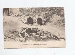 KORITZA (KORCE ALBANIE) 48 LA FONTAINE . THE FOUNTAIN  1918