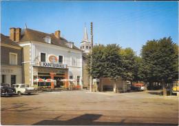 Les Aix D´angillon Place Des Tilleuls - France