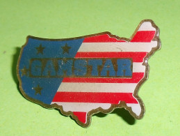 Pin's / Villes / Pays / Régions  : Gamstar  , états Unis TB12a - Villes