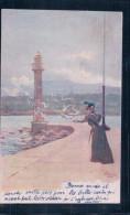 Pellegrini, Genève Et Lac Léman (8004) - Autres Illustrateurs