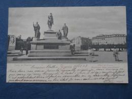 Ajaccio  Hotel De France, Statue De Napoléon - Animée - Précurseur - Ed. Guittard - Circulée 1903 - L256 - Ajaccio