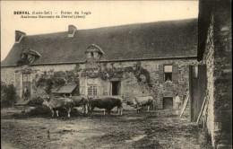 44 - DERVAL - Ferme - Vaches - Derval