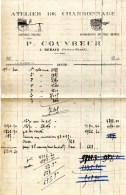 77 REBAIS Atelier De Charronnage ,Voitures Neuves P,COUVREUR - Cars