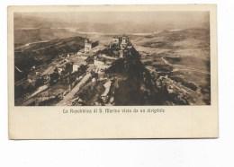 REPUBBLICA DI S.MARINO VISTA DA UN DIRIGIBILE 1929  VIAGGIATA FP MANCA F.BOLLO - San Marino
