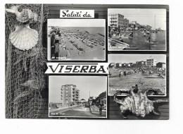 SALUTI DA VISERBA VIAGGIATA FG - Rimini