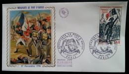 FDC 1972 - YT N°1730 - BONAPARTE AU PONT D´ARCOLE - PARIS - FDC