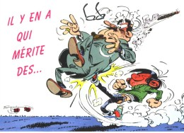 Franquin- Lagaffe-490: Il Y En A Qui Mérite Des.....1995 - Humor