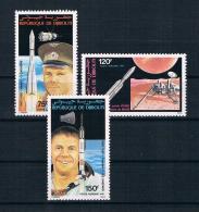 Dschibuti 1981 Raumfahrt Mi.Nr. 293/95 Kpl. Satz ** - Dschibuti (1977-...)