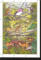 GUYANA   2992MINT NEVER HINGED MINI SHEET OF WILDLIFE & ANIMALS ; BIRDS   # M-0511-1  ( - Non Classés