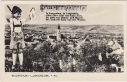 AK - Weinstadt LANGENLOIS - Panorama 60er - Langenlois