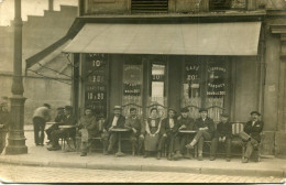CARTE PHOTO(CAFE_RESTAURANT) - Métiers