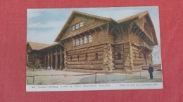 Forestry Building Worlds Fair Portland  1906  = Ref  2192 - Ausstellungen