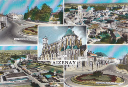 Aizenay 85 - Rond-Point - Vue Usines Ariel Et Francis Praud  - 1967 - Aizenay
