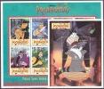 WALT DISNEY MiNr. 5174 - 5182 (Block 462) Guyana  Pocahontas (I) MNH / ** / POSTFRISCH - Disney