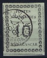 Madagascar: Yv Nr 9 Obl. / Used / Gestempelt.   1891 - Gebraucht