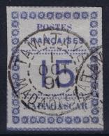 Madagascar: Yv Nr 10 Obl. / Used / Gestempelt.   1891 - Gebraucht