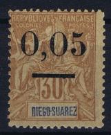 Madagascar: Yv Nr 59 II   MH/* Falz/ Charniere 1902 Signed/ Signé/signiert - Madagascar (1889-1960)