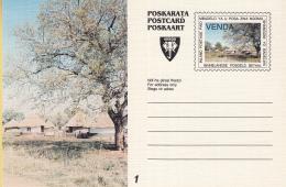 Venda - Postkaart/Poskarata/Postcard/Poskaart - Set 8 Kaarten - Plantage/fruit/banaan/waterlelie - Ongebruikt - Venda