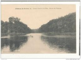 CHATEAU DE SCEAUX GRAND CANAL ET JET D EAU BASSIN DES PINTADES CPA BON ETAT - Sceaux