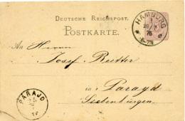 N3631 Ganzs. DR St. Hamburg N. Parajd Siebenbürgen - Allemagne