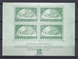 AUSTRIA 1933 WIPA STAMP EXHIBITION EXPOSITION DE TIMBRES  Briefmarkenausstellung - Faksimile - Briefmarkenausstellungen