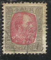 ISLANDA ICELAND ISLANDE 1902 1904 KING CHRISTIAN IX RE 4a 4 USATO USED OBLITERE´ - Oblitérés