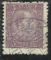 ISLANDA ICELAND ISLANDE 1902 1904 KING CHRISTIAN IX RE 40a 40 USATO USED OBLITERE´ - Oblitérés