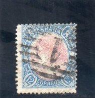 ESPAGNE 1865 O - 1850-68 Royaume: Isabelle II