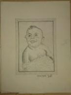 Dessin Au Crayon-Illustrateur -jeune Garçon (4) - Dibujos