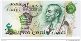 Ghana - Pick 14c -2 Cedis 1977 - Unc - Ghana