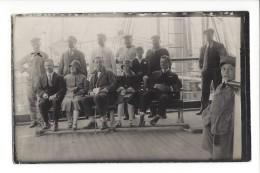 14443  -  Lisbonne En Visite Sur Un Bateau 13.04.1925 Carte Photo - Lisboa