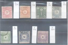 COREE LOT YVERT NRS. 1,2, 3,4, 6, 7 ET 9 OBLITERES ORIGINALS VOIR SCAN LOTE - Corea (...-1945)