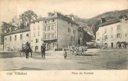 VILLEFORT PLACE DU PORTALET - Villefort