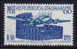 1952 Italia Italy Repubblica I.C.A.O. Serie ICAO MNH** - 6. 1946-.. Republic
