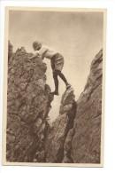 14455  -  Klettern Im Fels Am Grat - Alpinisme