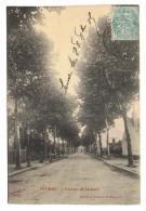 CPA 21 BEAUNE Avenue De La Gare - Beaune