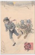 ENFANTS Faisant De La Luge - Illustrateur MM VIENNE N° 278 - Vienne