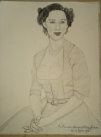 Dessin Au Crayon-Illustrateur -Princesse Margaret (4) - Drawings