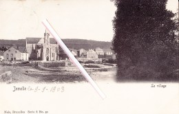 JEMELLE - Le Village - Superbe Carte Circulée En 1903 - Rochefort