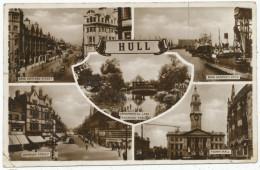 Hull Multiview Postcard - Hull