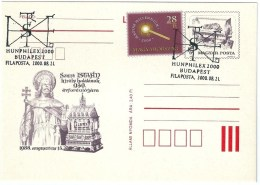 3993 Hungary SPM History Philately Exhibition King - Royalties, Royals