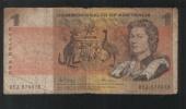 Australia 1969 $1 Commonwealth Of Australia - Decimal Government Issues 1966-...