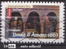 FRANCE N°458  Auto Adhesif OBLITERE - France