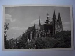 1 Cpa - Czech Republic - Praha Prague (2 Scans) - Tschechische Republik