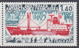 French Southern And Antarctic Territory SG 119 Thala Dan Ship MNH - French Southern And Antarctic Territories (TAAF)